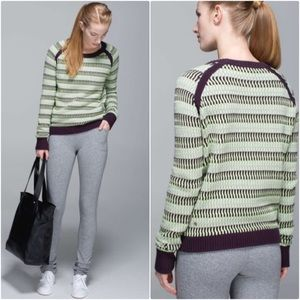 Lululemon Devi Crew Pullover Knit Sweater Top